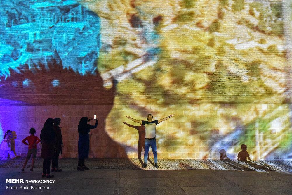 نورپردازی سه بعدی در شیراز
